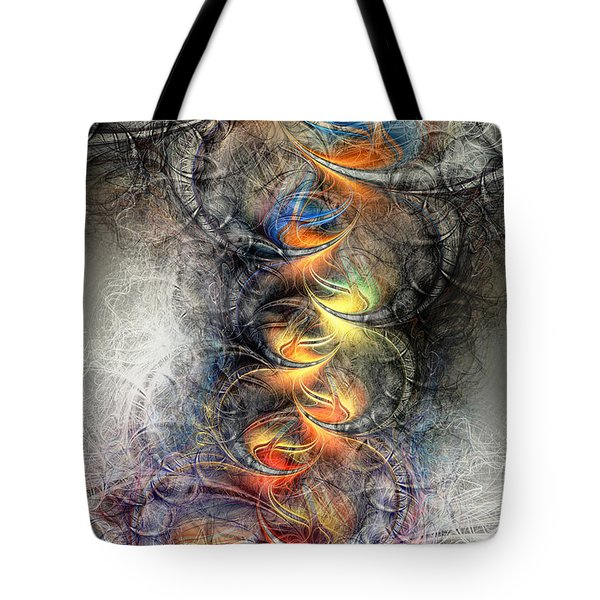 Out Of The Ashes Tote Bag by Kim Redd