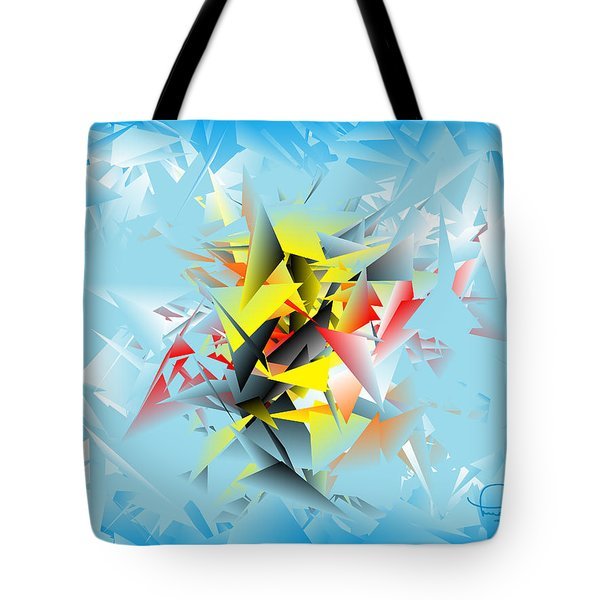 Out Of The Blue 5 Tote Bag