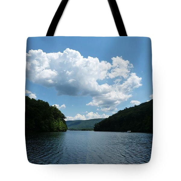 Out Of The Cove Tote Bag by Donald C Morgan