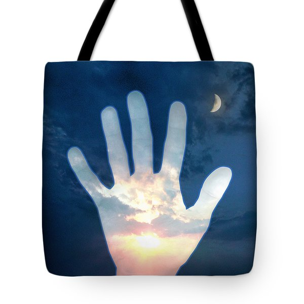 Out Of The Darkness...into The Light Tote Bag