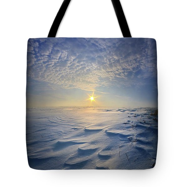 Tote Bag featuring the photograph Out Of The East by Phil Koch