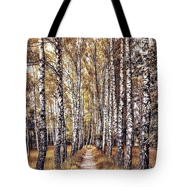 Out Of The Forest And Into The Trees Tote Bag