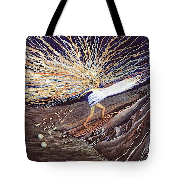 Out Of The Miry Clay Tote Bag