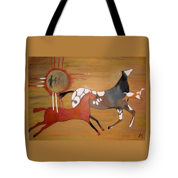 Out Of The Past Tote Bag by Stephanie Moore