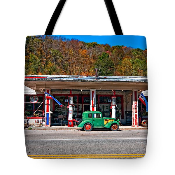 Out Of The Past Tote Bag by Steve Harrington