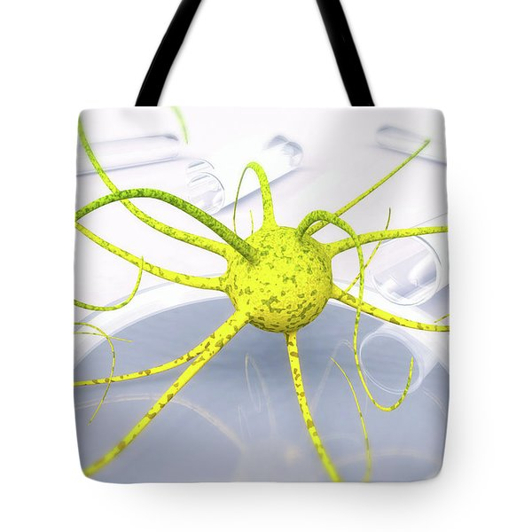 Out Of The Petri Dish... Tote Bag by Tim Fillingim