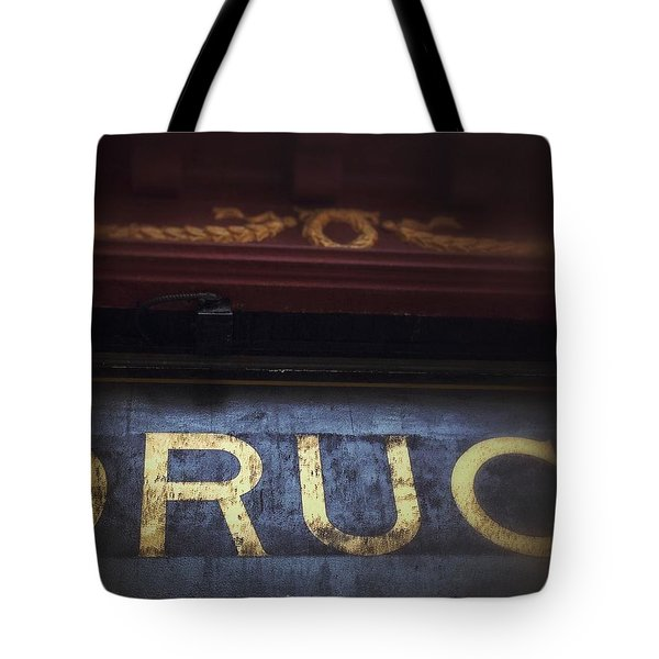 Tote Bag featuring the photograph Out Of The Store by Olivier Calas
