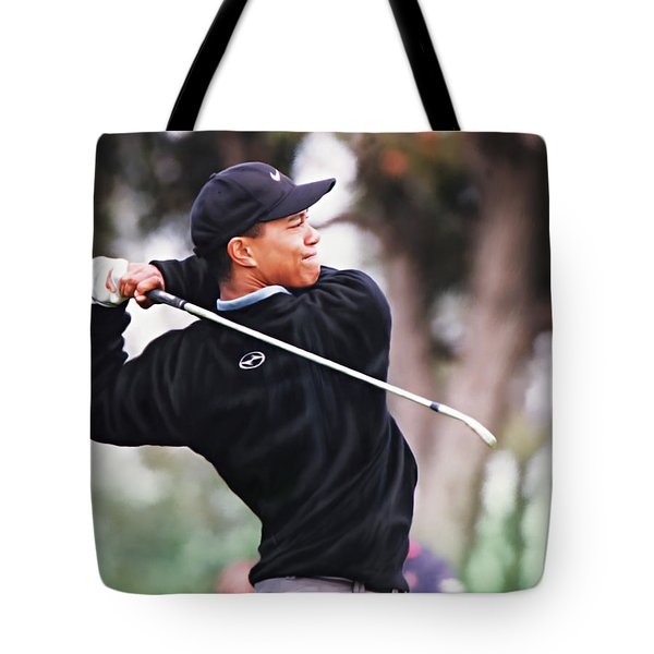 Tote Bag featuring the digital art Out Of The Woods by Don Olea