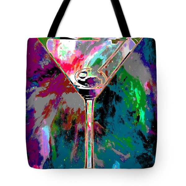 Out Of This World Martini Tote Bag by Jon Neidert