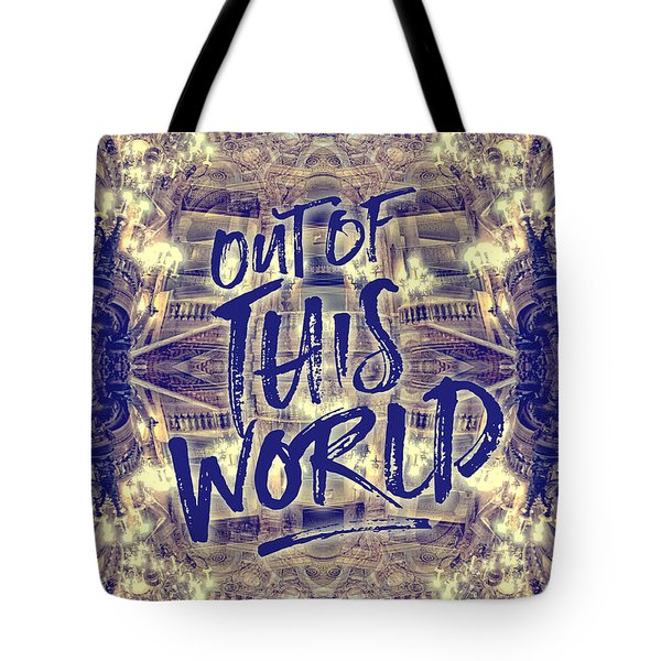 Out Of This World Opera Garnier Paris France Tote Bag