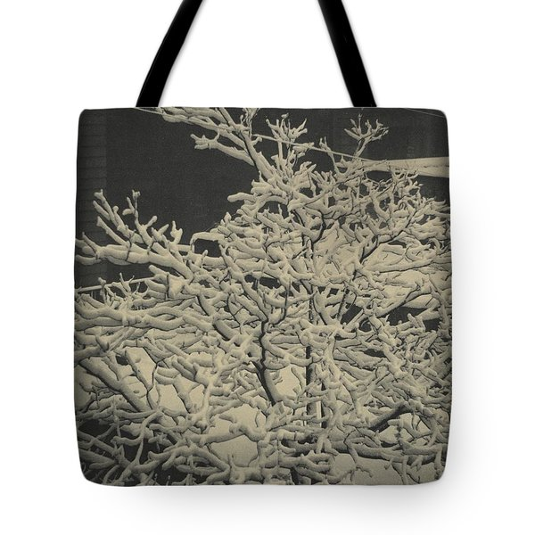 Tote Bag featuring the pyrography Out Of Window by Artistic Panda