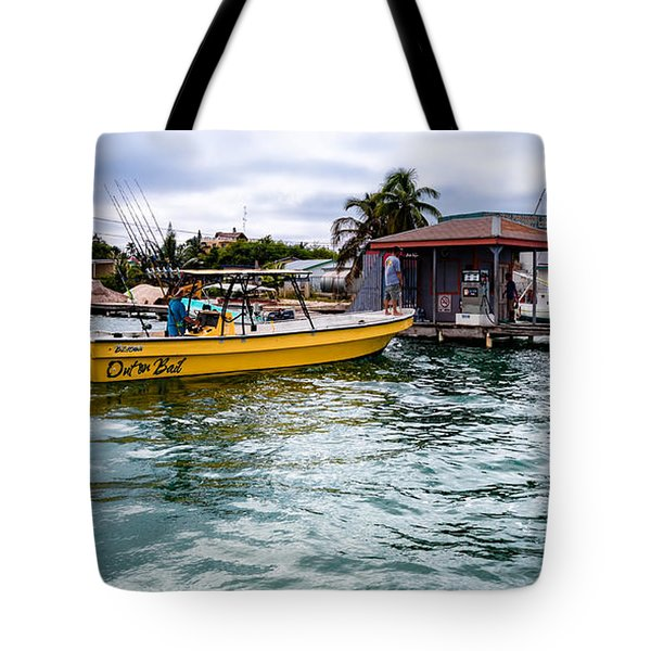 Out On Bail Tote Bag