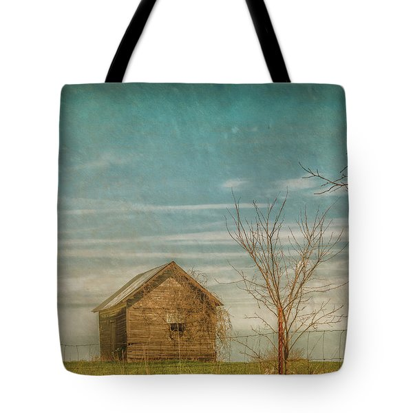 Out On The Farm Tote Bag by Pamela Williams