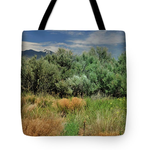 Out On The Mesa 1 Tote Bag
