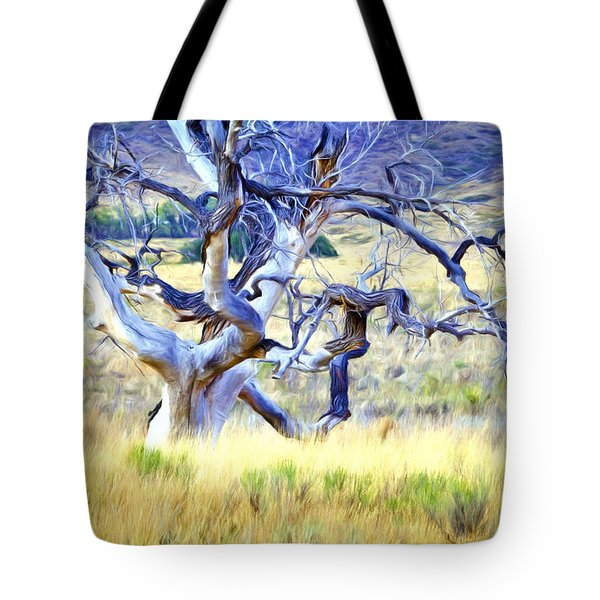 Out Standing In My Field Tote Bag by James Steele