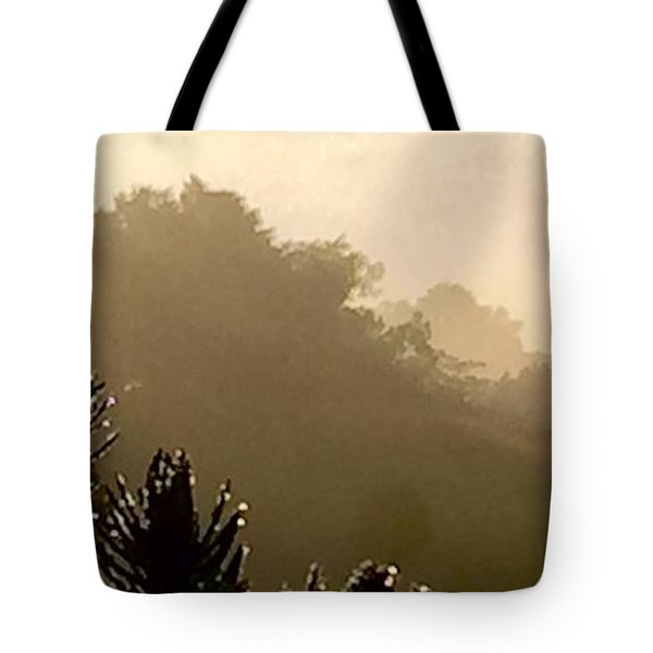 Tote Bag featuring the photograph Out The Front Door by Steven Lebron Langston