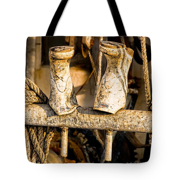 Out To Dry Tote Bag by Christopher Holmes