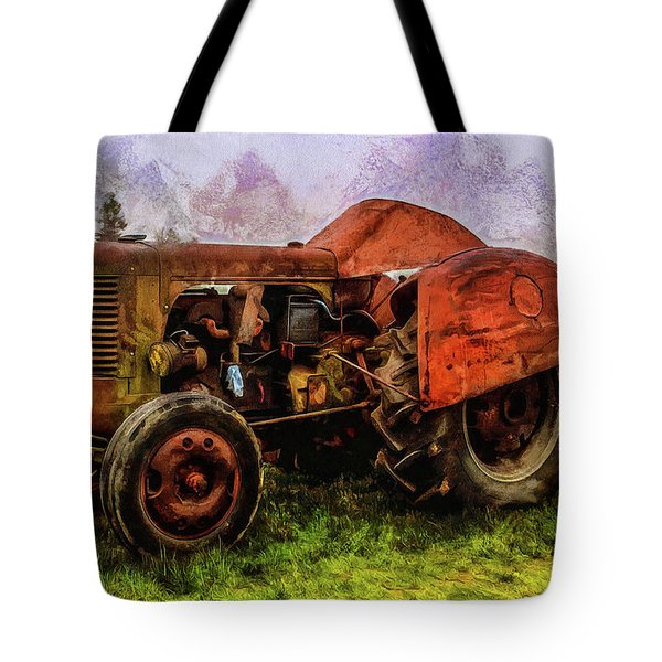 Put Out To Pasture Tote Bag