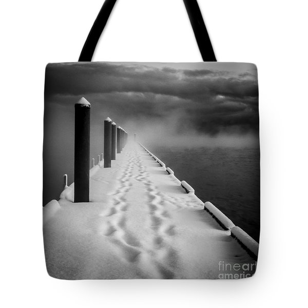 Out To The End Tote Bag