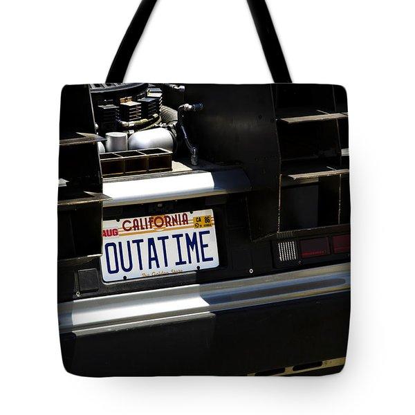 Outatime Tote Bag