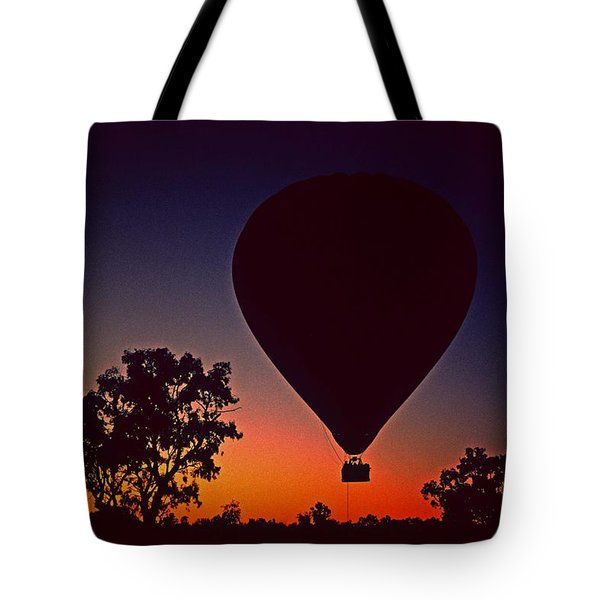 Outback Balloon Launch Tote Bag