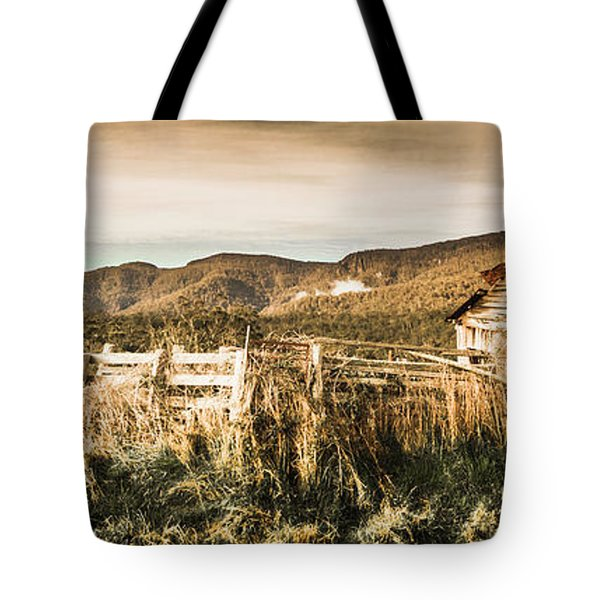 Outback Obsolescence  Tote Bag