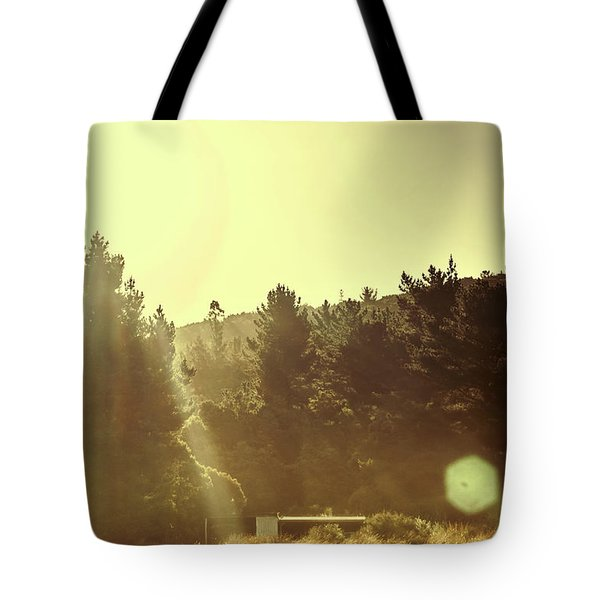 Outback Radiance Tote Bag