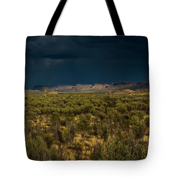Outback Storm Tote Bag