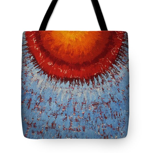 Outburst Original Painting Tote Bag