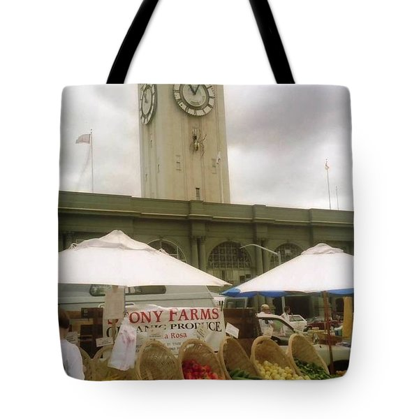 Outdoor Farmers Market Tote Bag