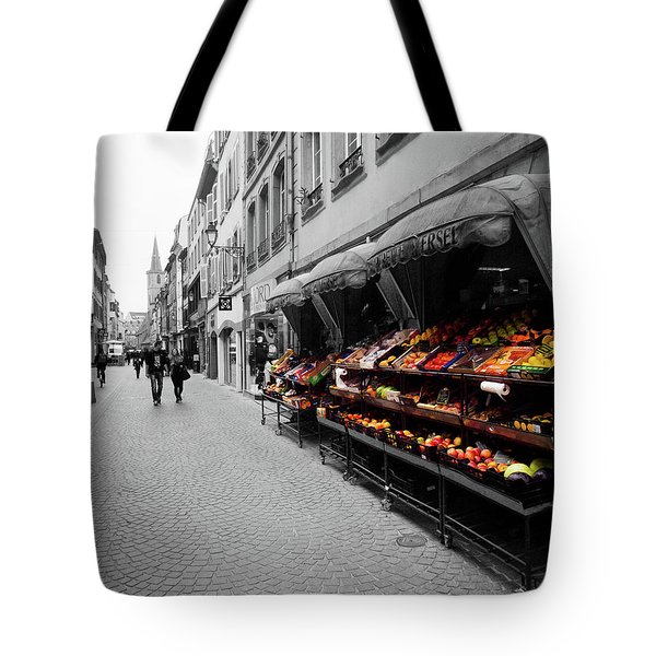 Outdoor Market Tote Bag
