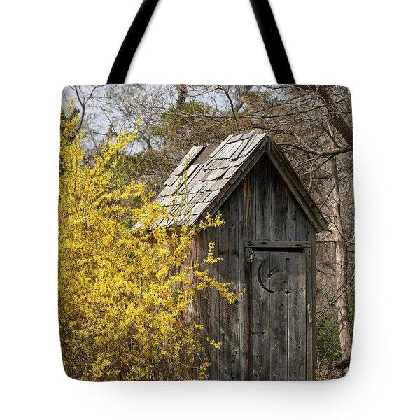 Outdoor Plumbing Tote Bag by Nicki McManus