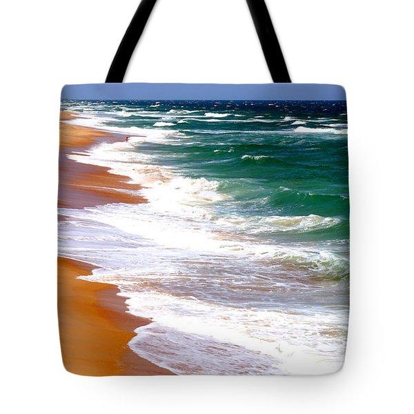 Outer Banks Beach North Carolina Tote Bag