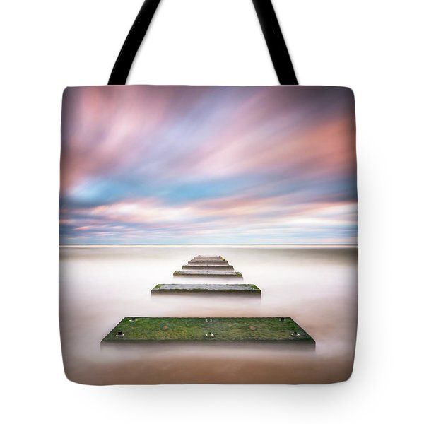 Outer Banks North Carolina Seascape Nags Head Nc Tote Bag
