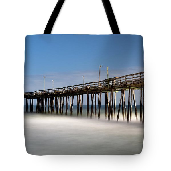 Outer Banks Pier Tote Bag