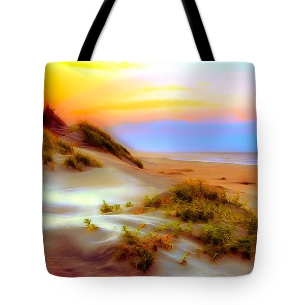 Outer Banks Soft Dune Sunrise Ap Tote Bag