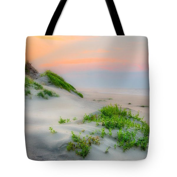 Outer Banks Soft Dune Sunrise Tote Bag