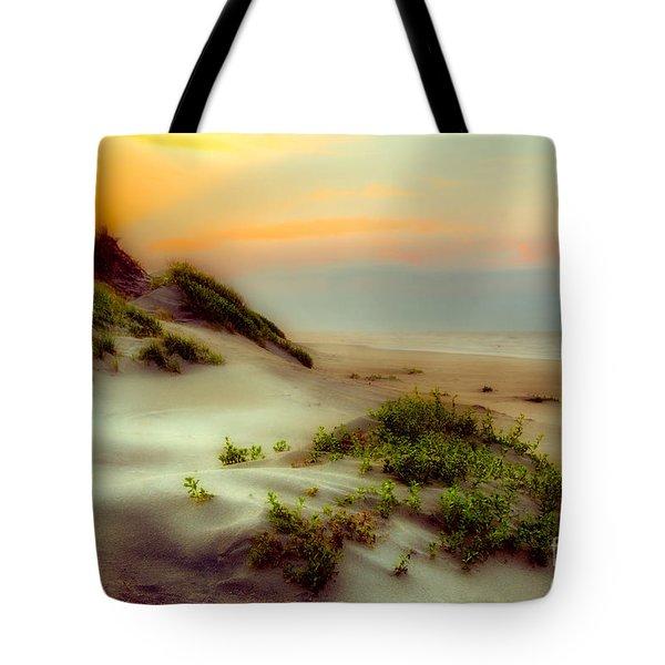Outer Banks Soft Dune Sunrise Fx1 Tote Bag