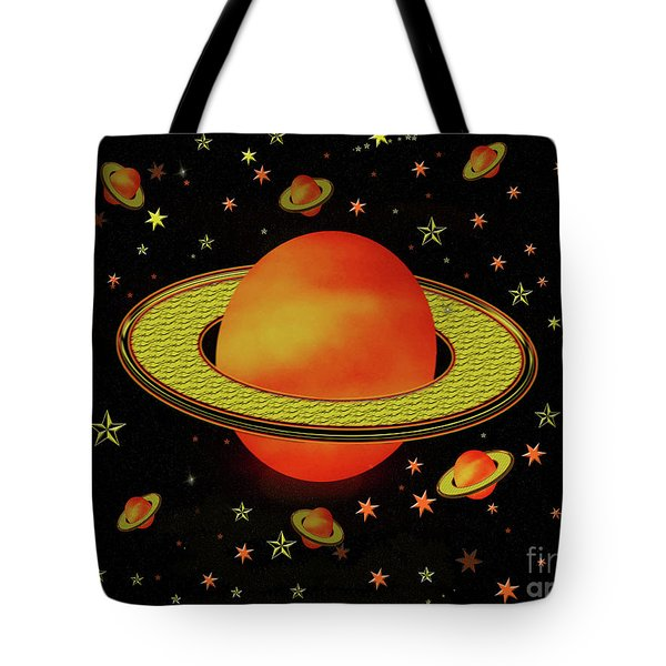 Outer Harvest Moons Tote Bag