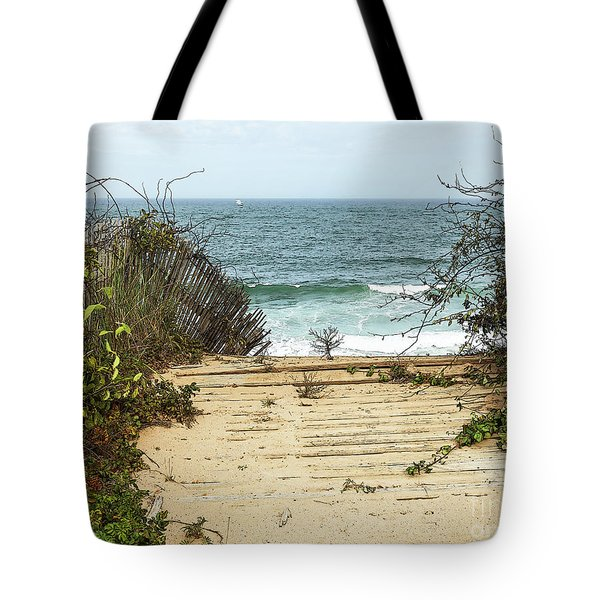 Tote Bag featuring the photograph Outermost Passage by Michelle Wiarda
