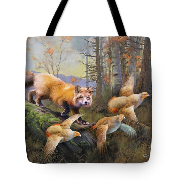 Outfoxed Tote Bag