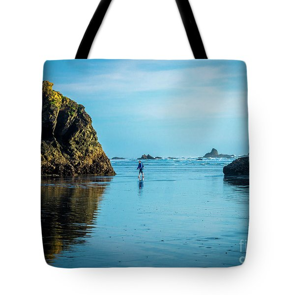 Outing In Ruby Beach,wa Tote Bag