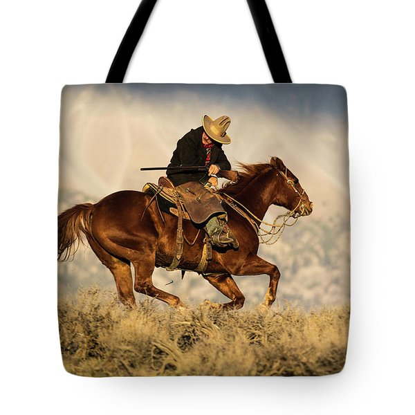 Outlaw Kelly Western Art By Kaylyn Franks Tote Bag