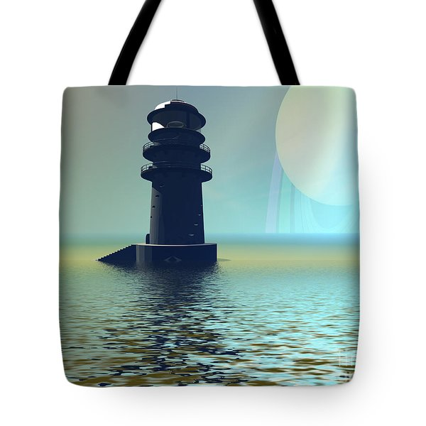 Outpost Tote Bag by Corey Ford