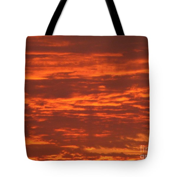 Outrageous Orange Sunrise Tote Bag