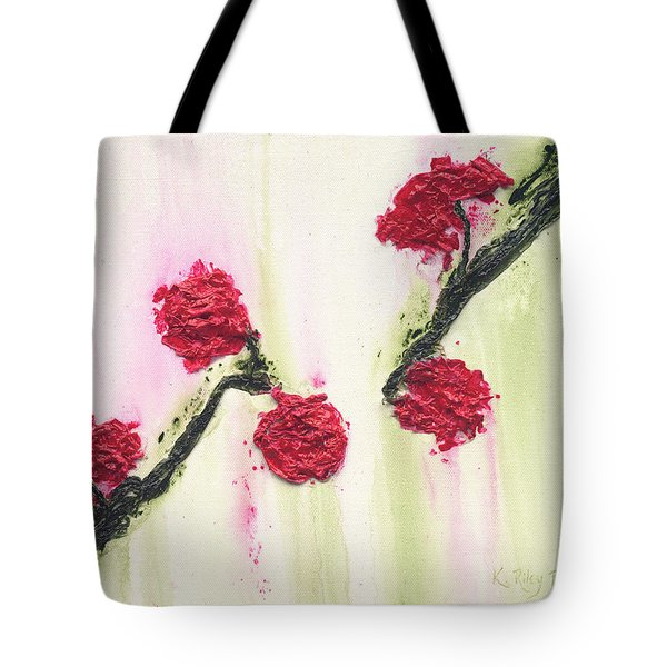 Tote Bag featuring the painting S R R Seeks Same by Kathryn Riley Parker
