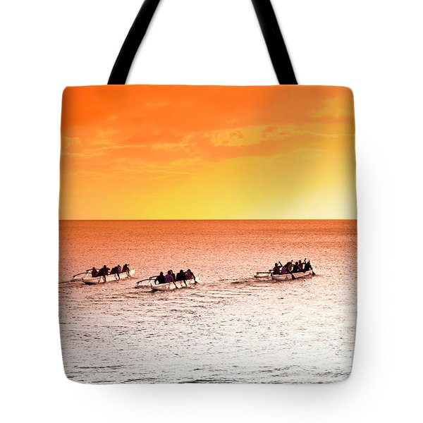 Outrigger Pastels Tote Bag