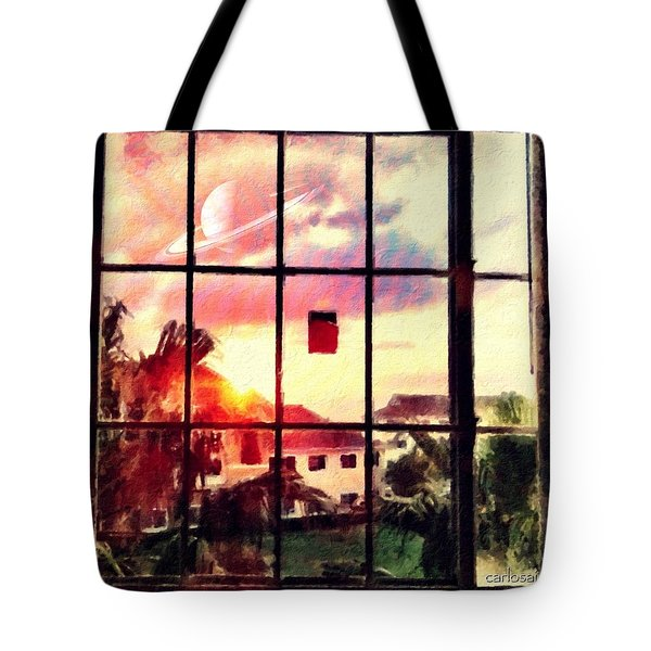 Outside My Window... Tote Bag