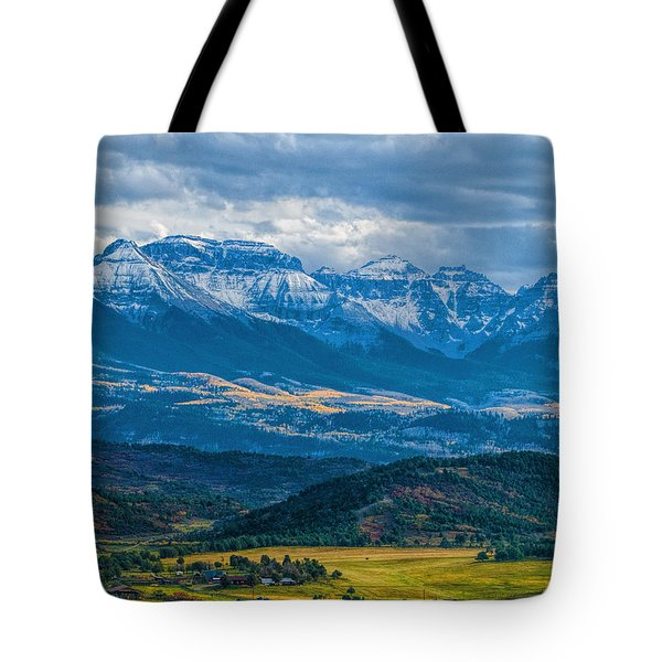 Outside Of Ridgway Tote Bag
