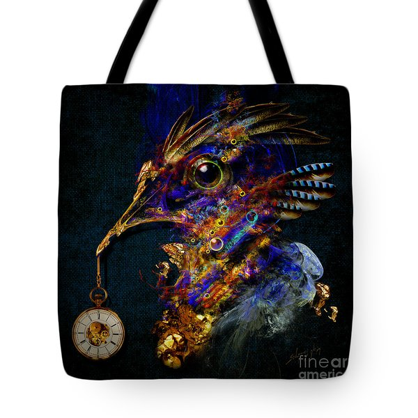 Outside Of Time Tote Bag